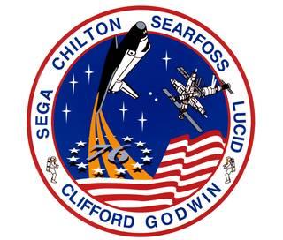 NASA sts076 mission patch