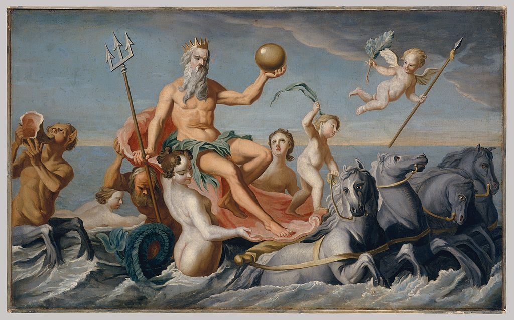 Painting of The_Return_of_Neptune_by_John_Singleton_Copley from 1754