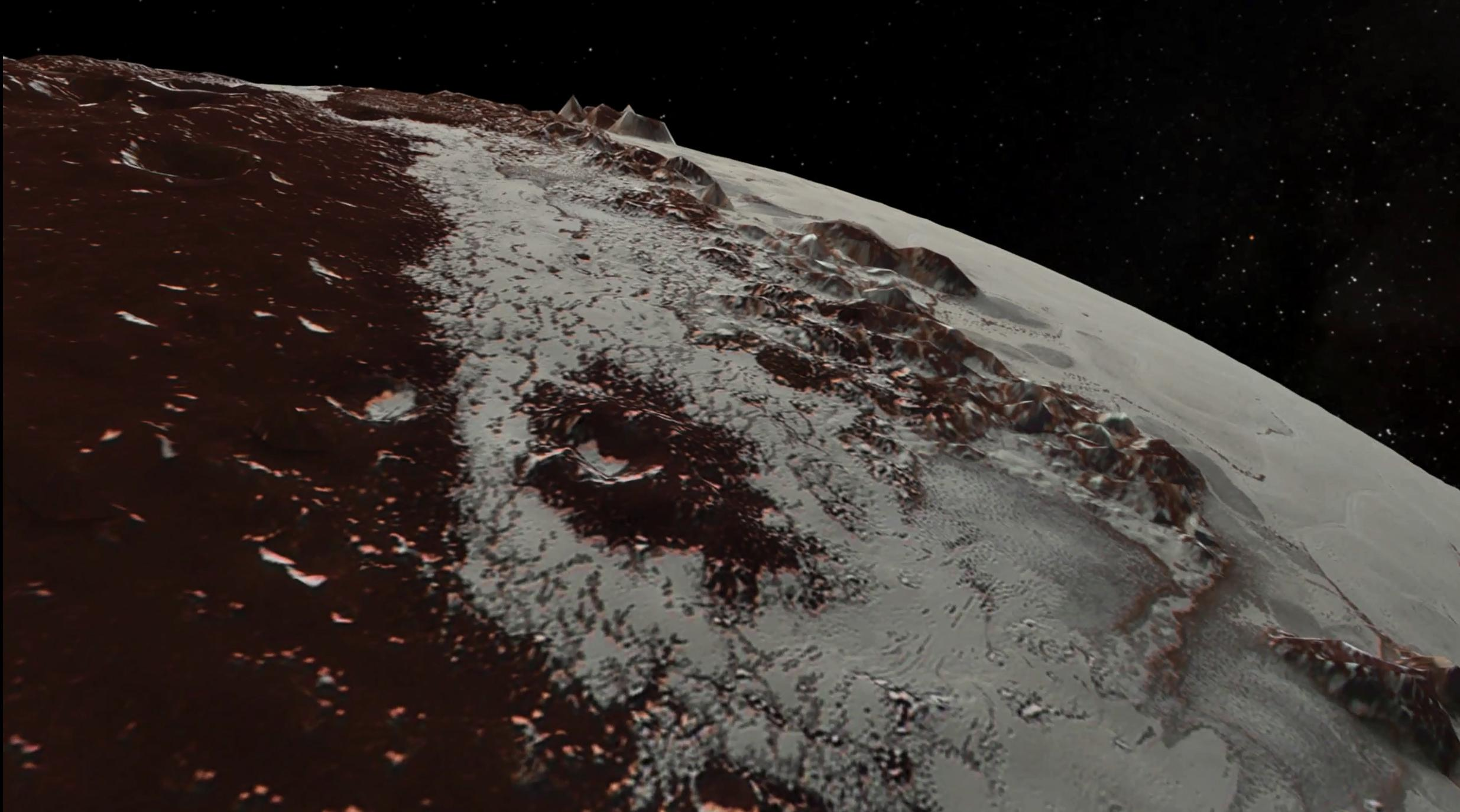 In July 2015, NASA's New Horizons spacecraft sent home the first close-up pictures of Pluto and its moons.