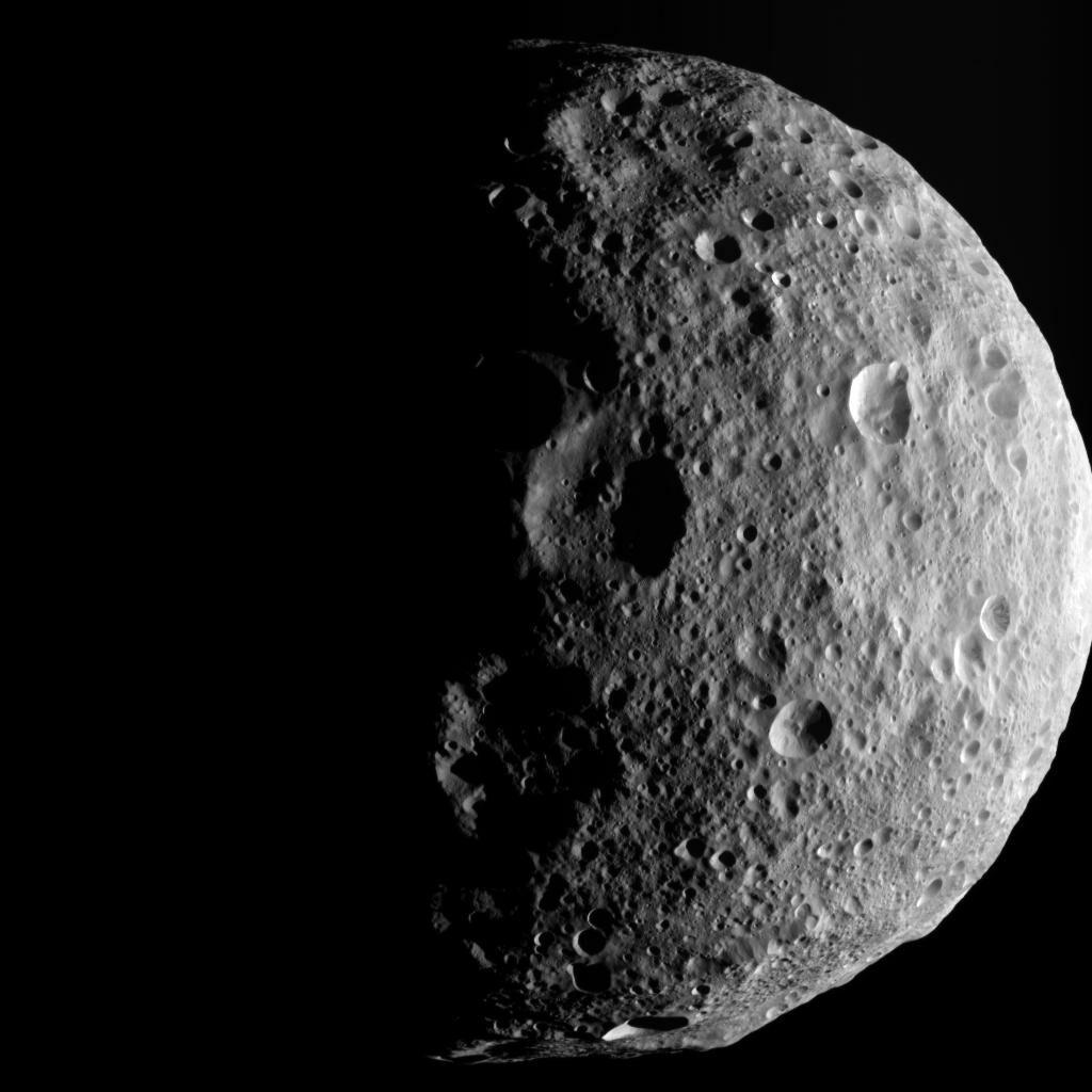 Photo of the asteroid Vesta