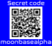 The Moon secret webpage QR code