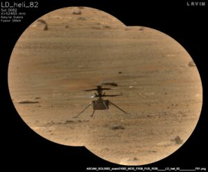 ingenuity helicopter on mars